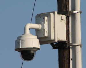 Alameda County Sheriff surveillance camera at Coehlo and Mooney