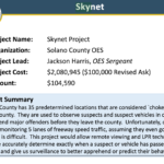 Solano County Sheriff Gets Initial Funding for Project Skynet