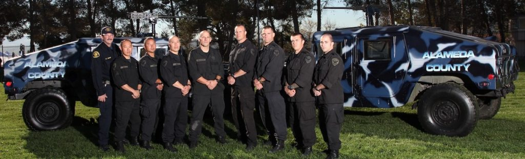 San Francisco Police Department at Urban Shield in 2012