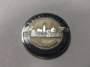 Urban Shield challenge coin