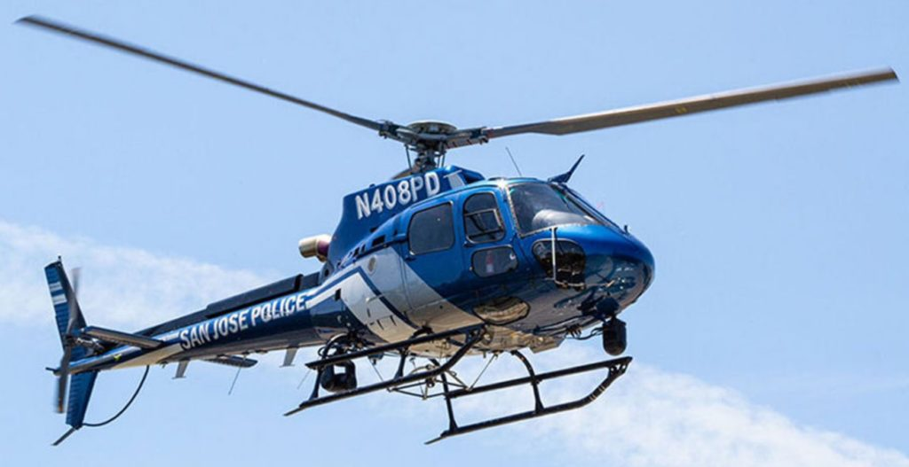 San Jose Police Department Airbus AS350B3 helicopter N408PD